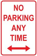 No-parking-anytime