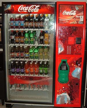 Soda-vending-machine