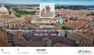 Twitter-pontifex-Pope-Benedict-XVI